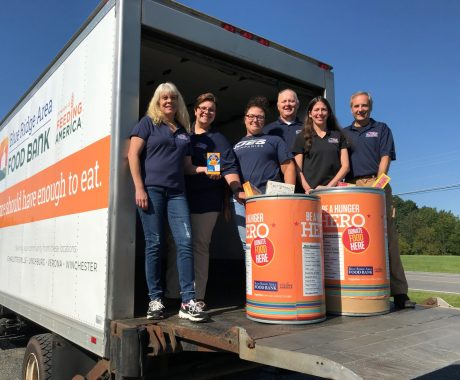 JES Foundation Repair Partners with the Blue Ridge Area Food Bank