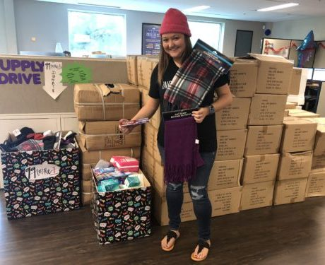 JES Collects Food, Supplies for Organization to Provide for the Homeless