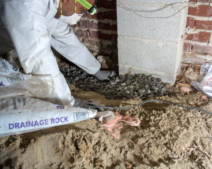 waterproofing an older home