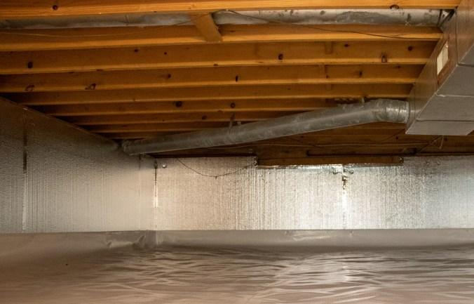crawl space overhaul