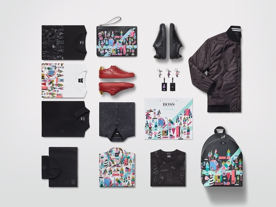 Collection BOSS x Jeremyville