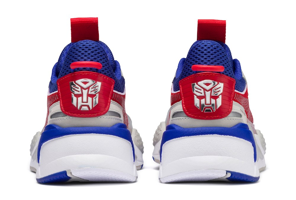Collection capsule PUMA x TRANSFORMERS