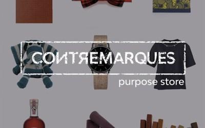 """Le """"Purpose Store"""" Contremarques sera ouvert du 12 au 16.12.18 (Paris)"""