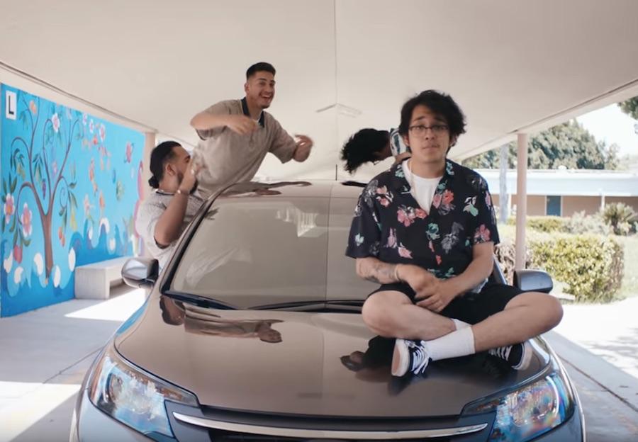 """Ridin' down the street in my Honda SUV"" – CUCO – CR-V"