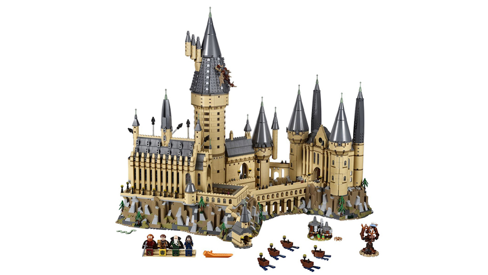LE CHÂTEAU DE POUDLARD VERSION LEGO !