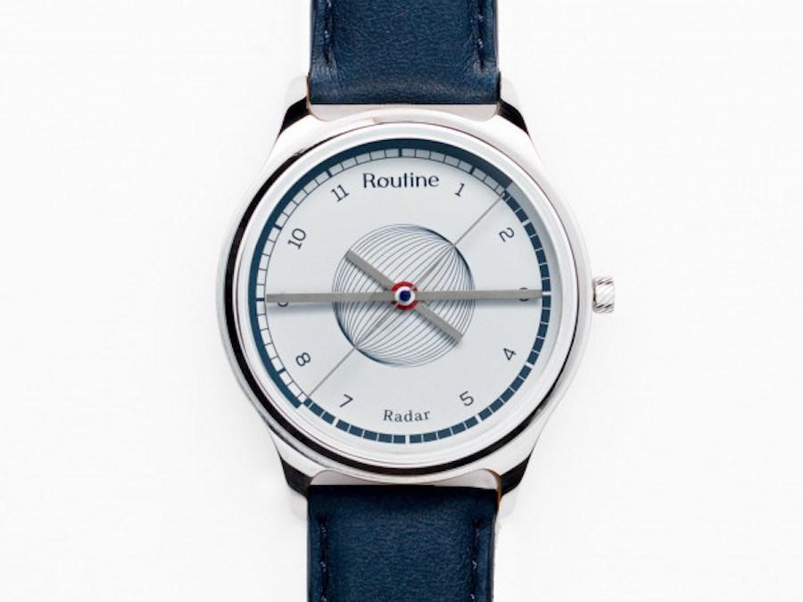 Routine, la révolution horlogère, à la française – Radar 40 mm