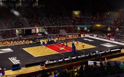 Spike Volleyball, première simulation de volley en salle par Bigben