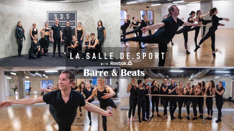 LA.SALLE.DE.SPORT x Reebok : BARRE & BEATS