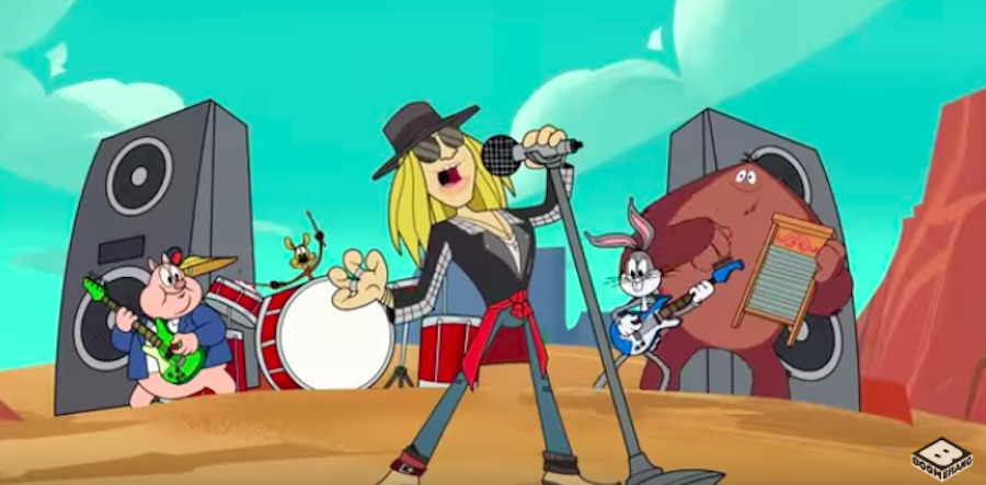 Axl Rose – Rock the Rock (New Looney Tunes)