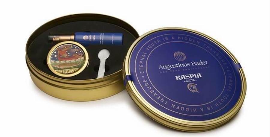 Caviar Kaspia lance le coffret « Eternal Youth » avec la complicité d'Augustinus Bader