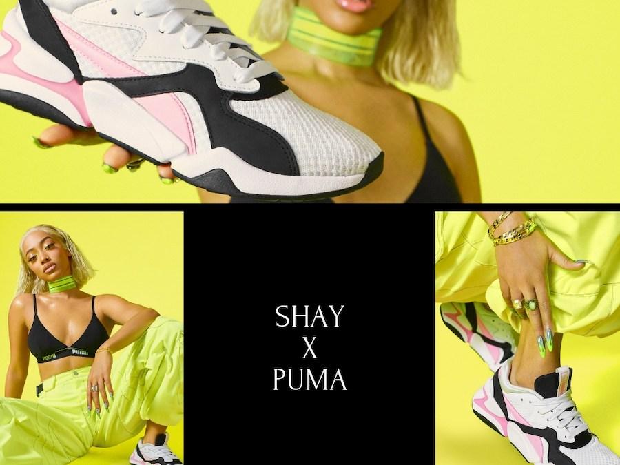 PUMA : SHAY devient la nouvelle ambassadrice de la NOVA 90