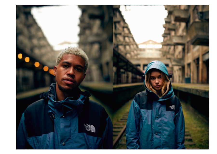 The North Face présente la collection Irisdescence