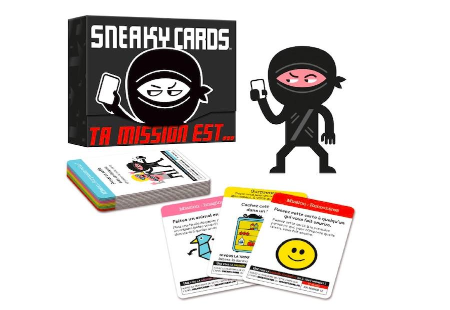Sneaky Cards, le jeu phénomène aux Etats-Unis débarque en France