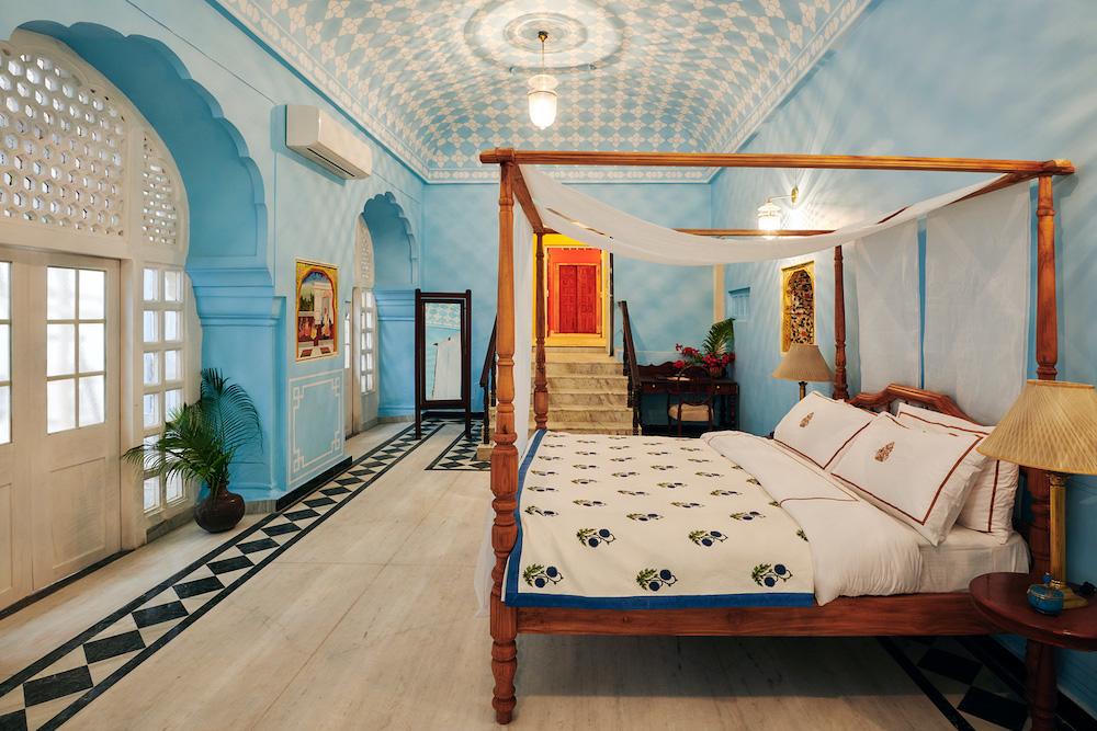 La suite Gudliya du City Palace de Jaipur, sur Airbnb !