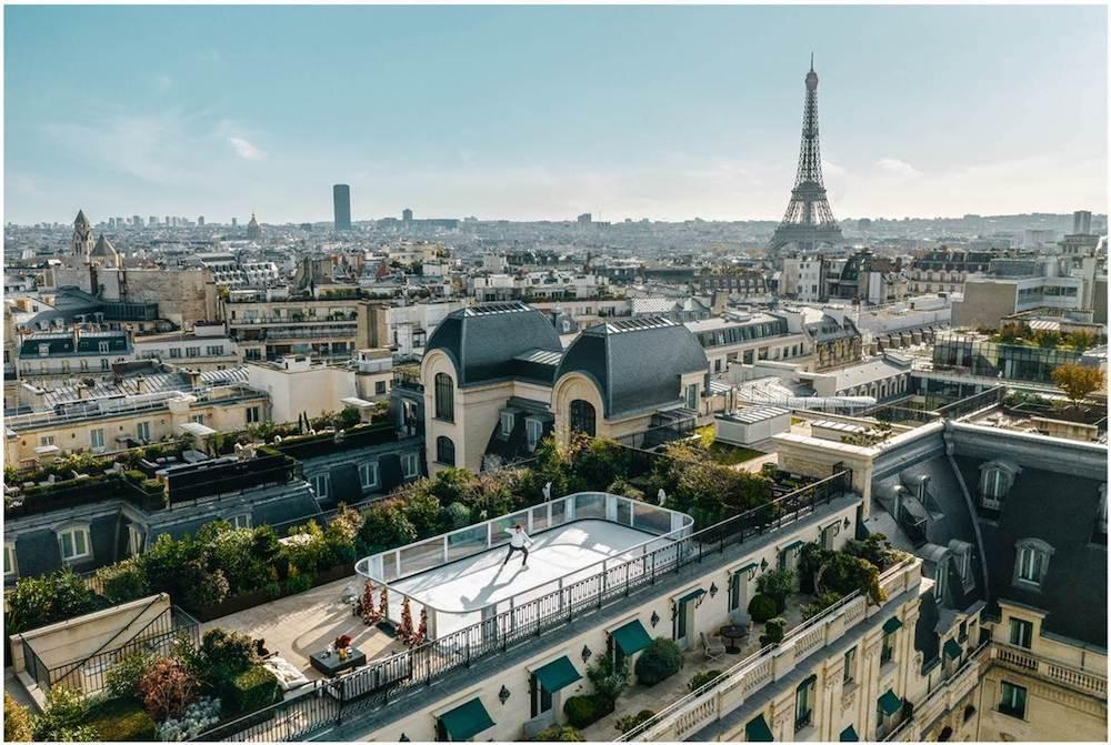 La magie de Noël à l'hôtel The Peninsula Paris