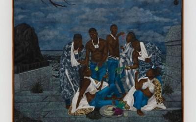 Visite virtuelle de l'expo de Cinga Samson : Amadoda Akafani, Afana Ngeentshebe Zodwa – Perrotin