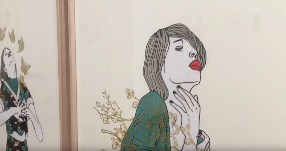 Expo virtuelle : «Divagations amoureuses» – Ségolène Brossette Galerie, Paris (Jusqu'au 25.04.2020)