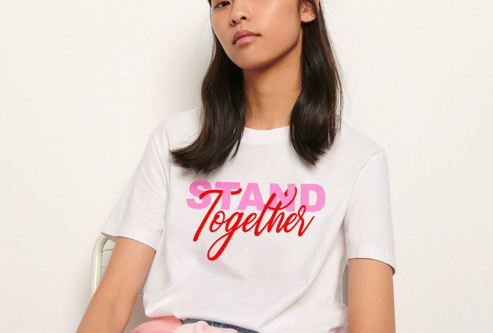 Sandro x la Croix-Rouge : Stand Together