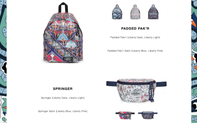 Liberty London x Eastpak