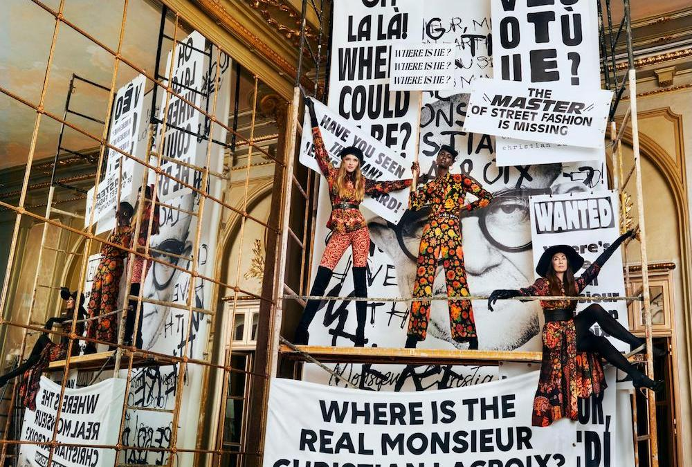Where is the real Monsieur Christian Lacroix ? Desigual