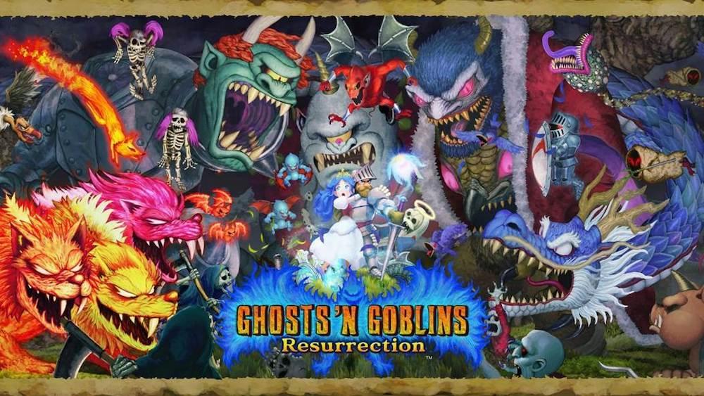 Ghosts 'n Goblins Resurrection sur Nintendo Switch