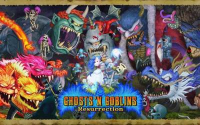 Ghosts 'n Goblins Resurrection sur Nintendo Switch