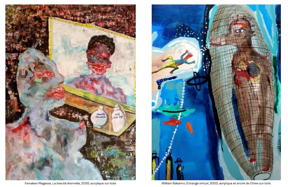 « Scène Symphonique » première exposition parisienne de William Bakaimo (Cameroun) et Famakan Magassa (Mali)