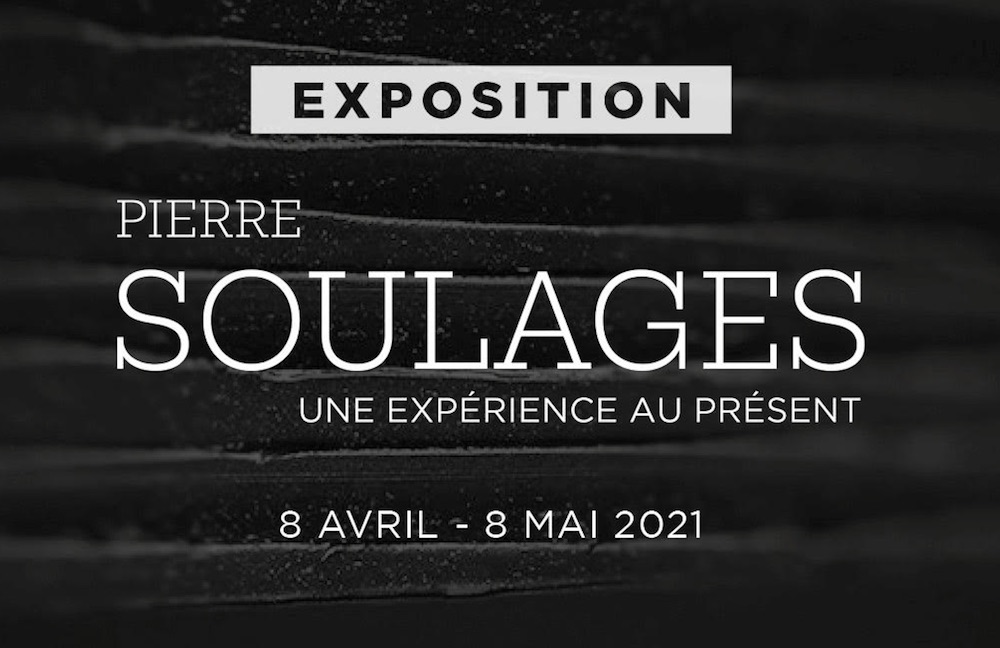 Exposition événement Pierre Soulages chez Opera Gallery Paris