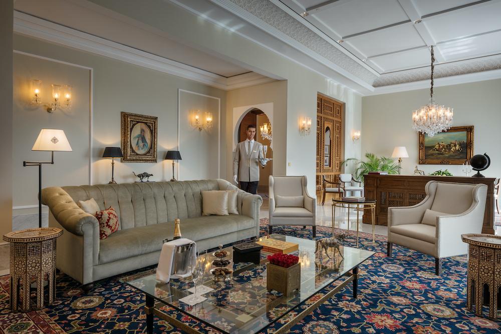 Oberoi Marrakech suite royale