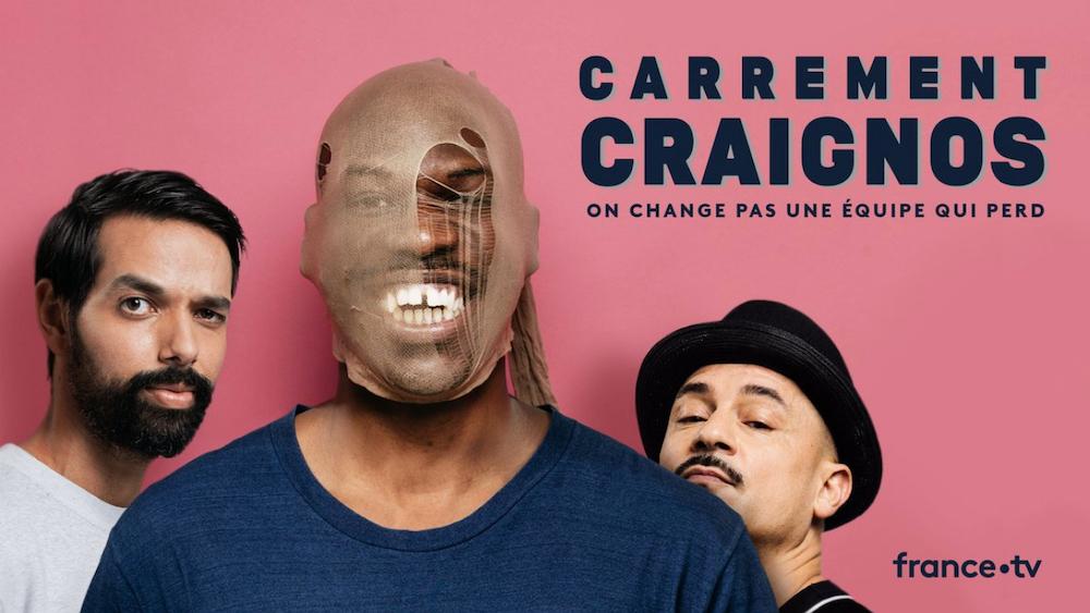 Carrément Craignos de Jean-Pascal Zadi, carrément très drôle même si c'est sur France.tv