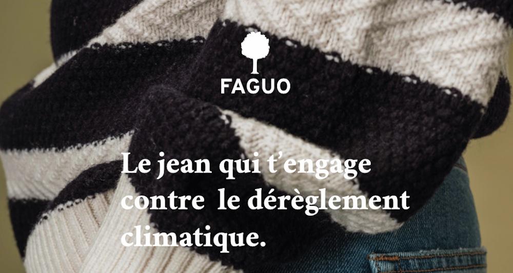 Faguo présente le Jean qui t'engage contre le dérèglement climatique