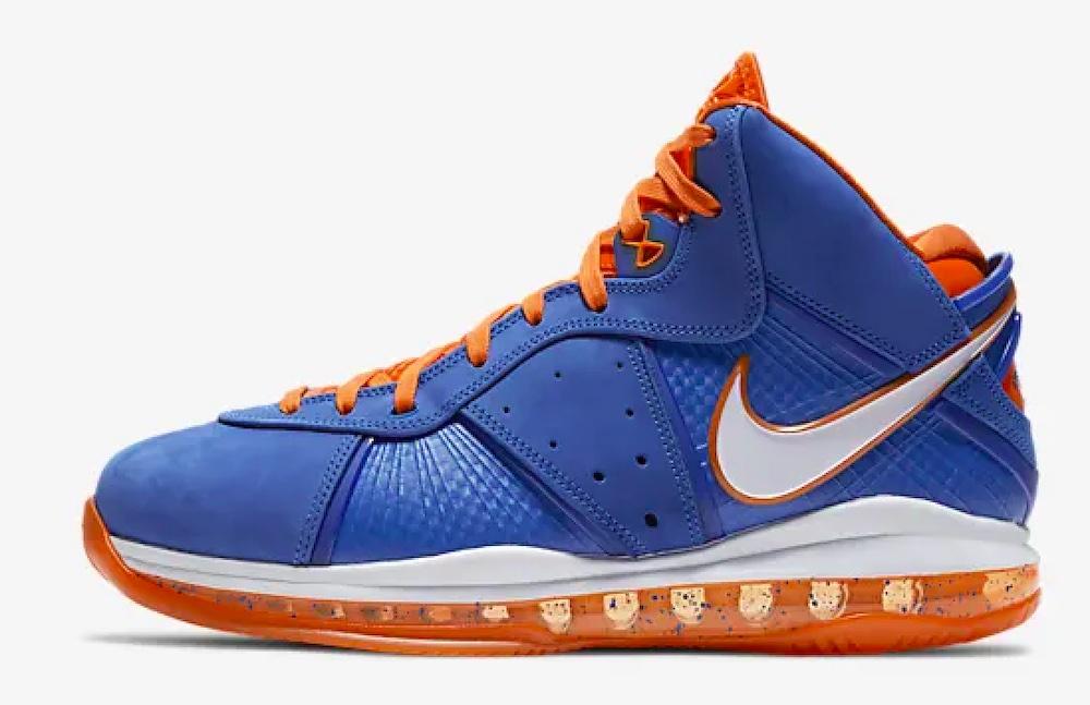LeBron 8 « Blue/Orange » – 14/04 à 09:00 UTC+2