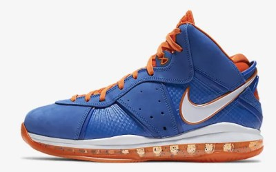 LeBron 8 « Blue/Orange » – 14/04 à 09:00 UTC+2