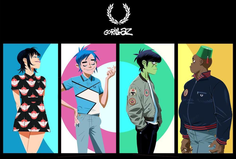 Collection capsule Fred Perry x Gorillaz