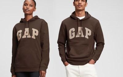 Re-Edition vintage : Gap Brown Hoodie