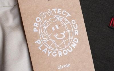 Collaboration sportswear éco-responsable : Merci x Circle (Edition limitée)