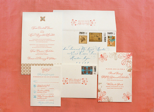 Hawaii Wedding Invitations The Destination Blog
