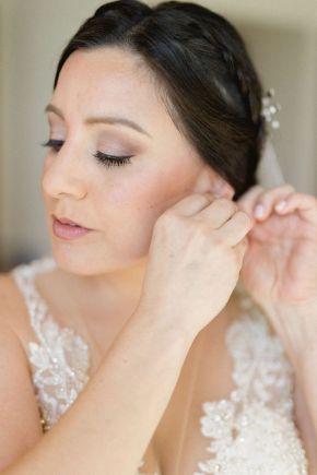maquillage de mariée glamour naturel