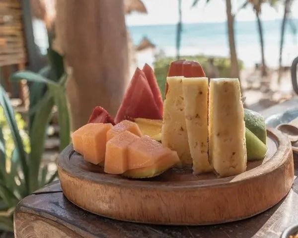 Ahu Tulum fruit platter