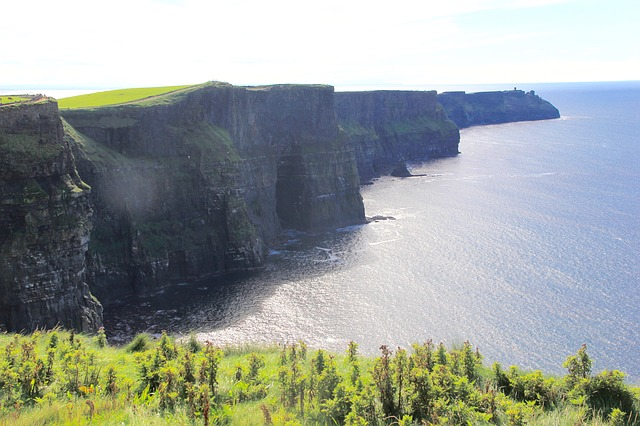 iconic view of the Cliffs of Moher, Ireland