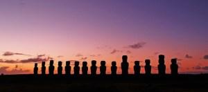 MOAI STATUES // EASTER ISLAND, CHILE