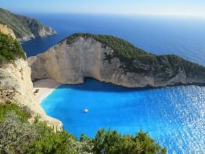 european beach vacation in zakynthos greece