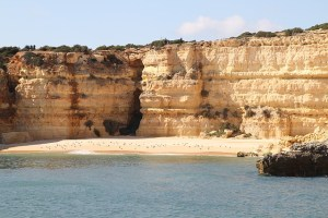 beach vacation in the algarve region of portugal