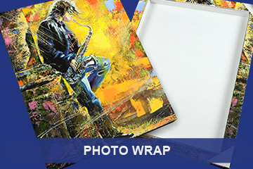 JetMaster Photo Wrap for Canvas Effect Image Displays