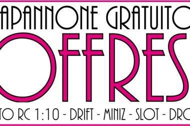 Capannone in uso Gratuito Offresi per Piste Mini-Z, Touring, Drift, Slot, Micro Droni FPV…