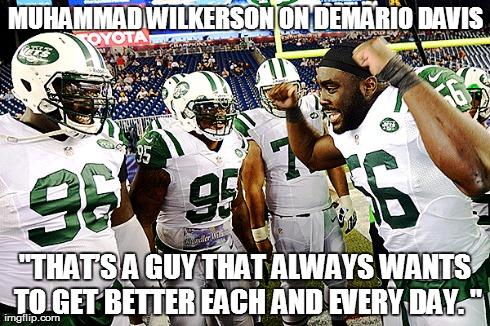 Muhammad Wilkerson, Demario Davis