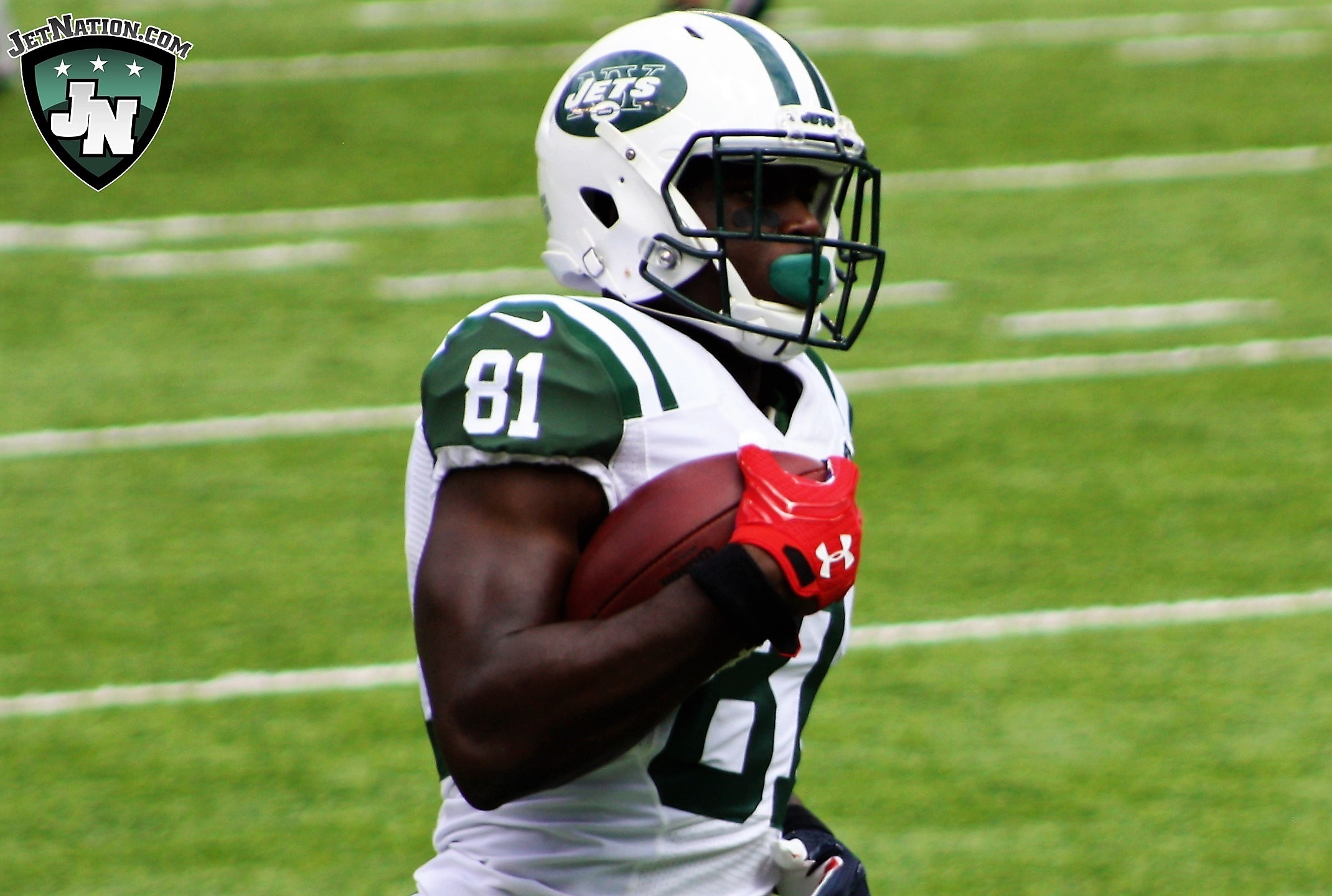 Quincy Enunwa: Hard to argue Jets aren't trying to tank