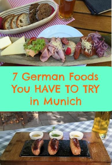 7 German Foods you have to try in Munich