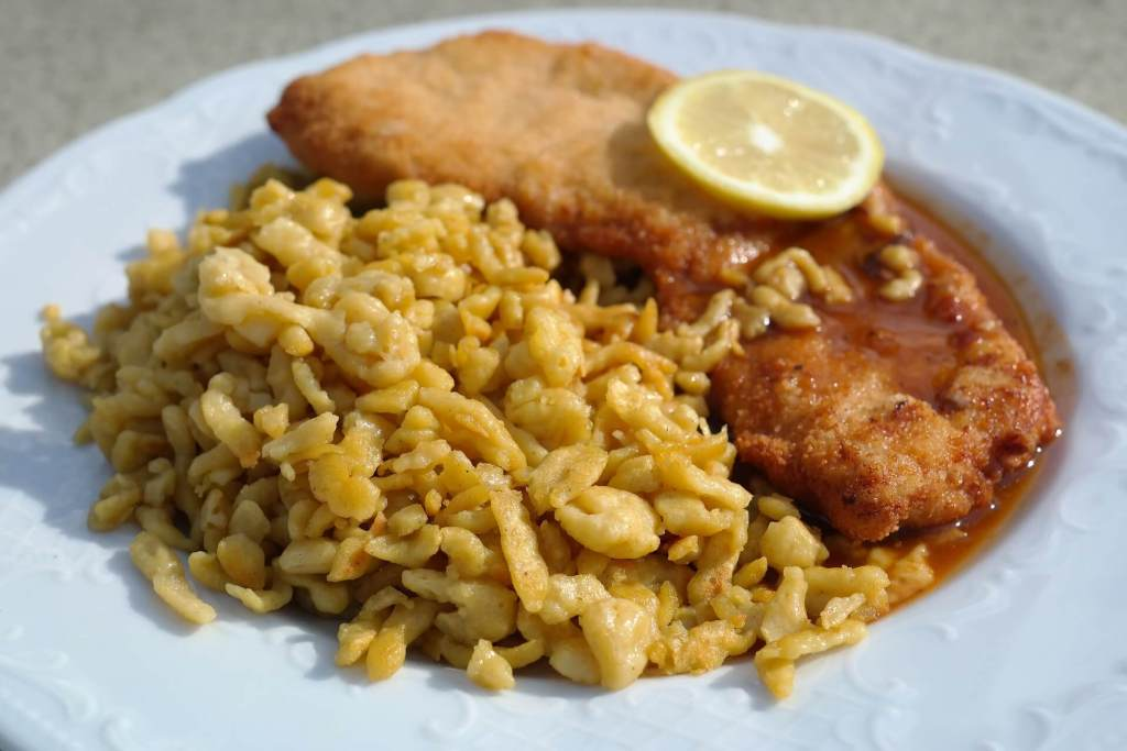 German Pasta and Veal