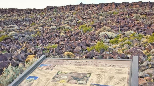 The Lagomarsino Petroglyph site features more than 2,200 petroglyph panels tucked into rock faces.